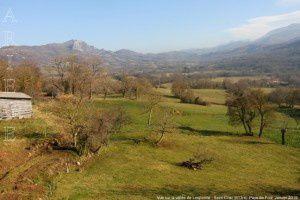 Vue sur la vallée de Lesponne - Saint-Cirac (613m)