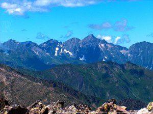 Mont Valier (2838m) du pic de Turguilla (2527m)