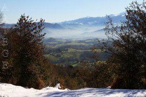 Vallée de l'Ariège vue de Montcoustan (920m)
