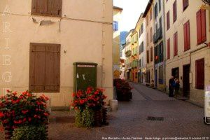 Rue Marcaillou - Ax-les-Thermes