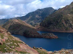 Grand étang Fourcat (2412m)