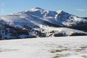 Rocher du Batail vu du Cap de la Coume de l'Orri (1407m)