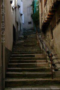 Rue des Escaliers - Ax-les-Thermes