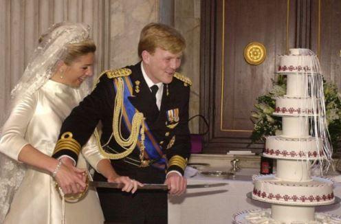 Menus royaux : mariage du Prince Wilhem-Alexander et de Maxima des Pays-Bas (partie 12)