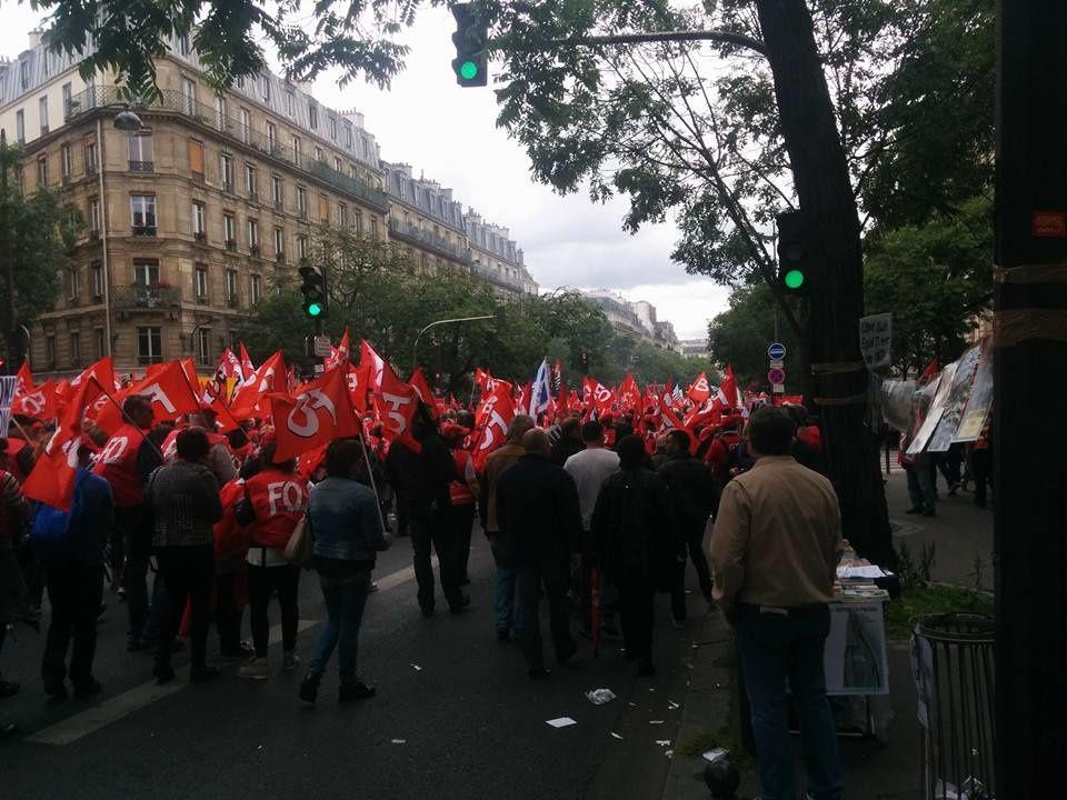 1 million de manifestants à Paris