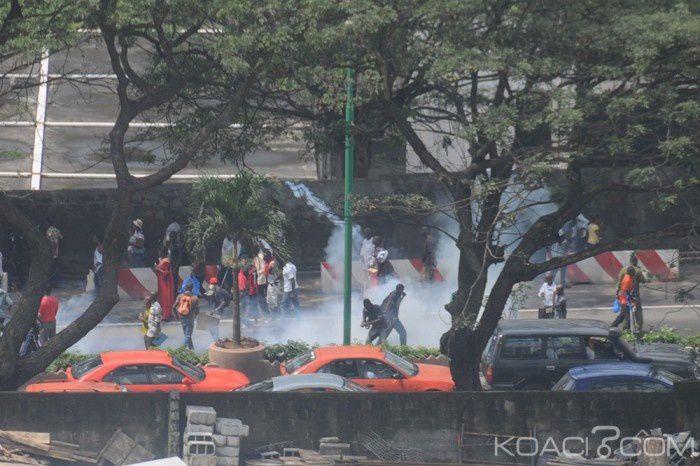 Les manifestations ont commencees en Cote d'Ivoire!