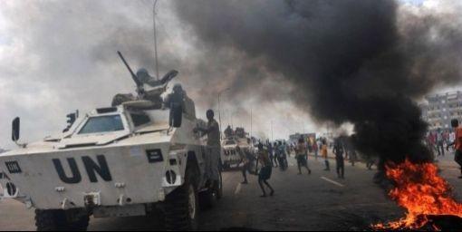 """Parceque la guerre  approche en Cote: """"l'ONU va lever l'embargo sur les armes"""""""