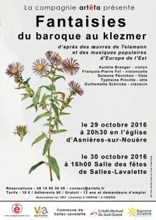 Concert d'automne par la compagnie ARTEFA