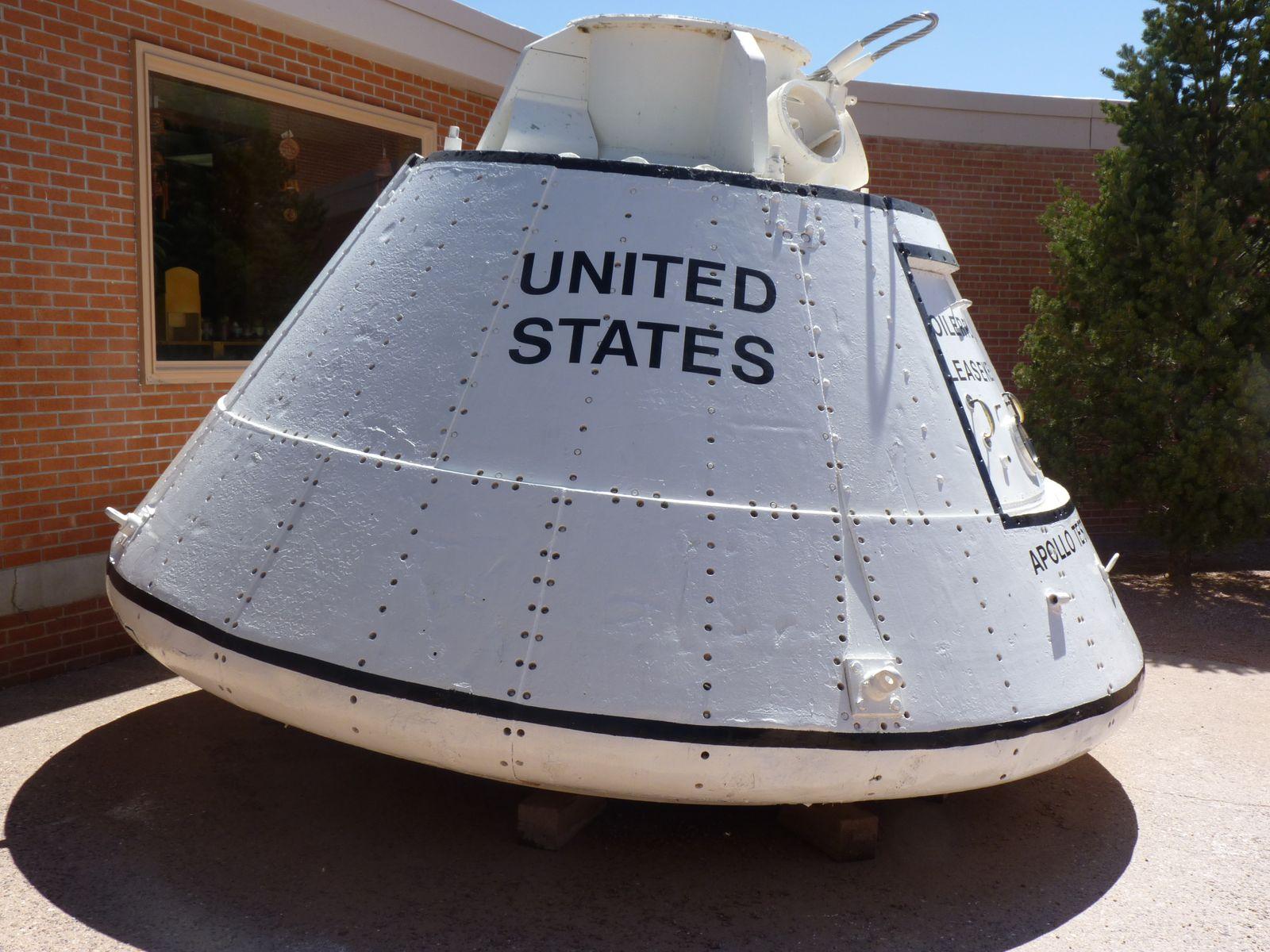 Le site de Meteor Crater grandiose, il fut une des bases d'entrainement de la mission Apollo 11.