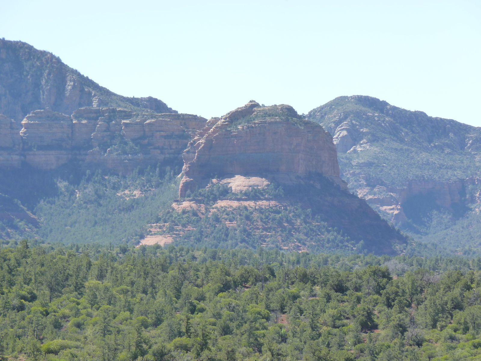 Les différentes roches qui entourent Sedona