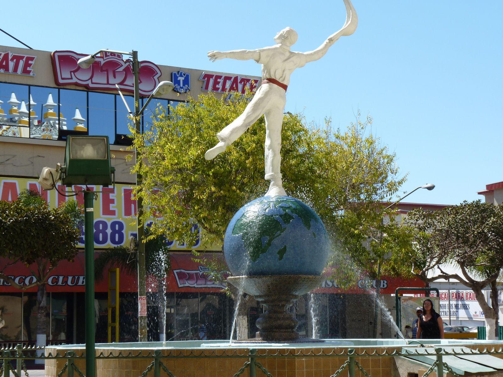 L'occasion pour faire une petite incursion à Tijuana.