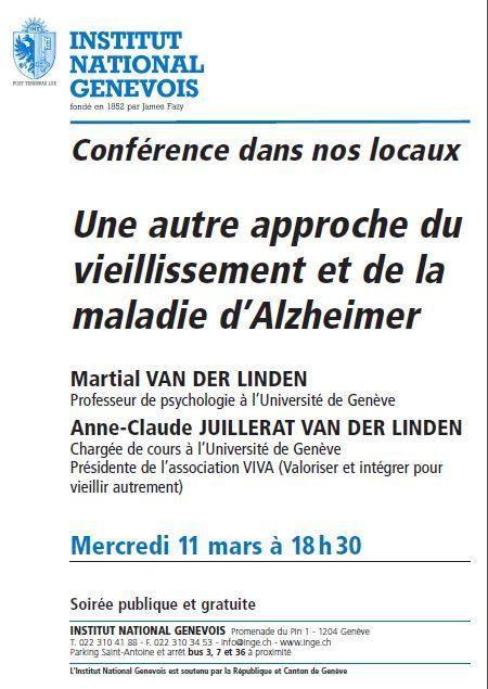 Conférence tout public en mars