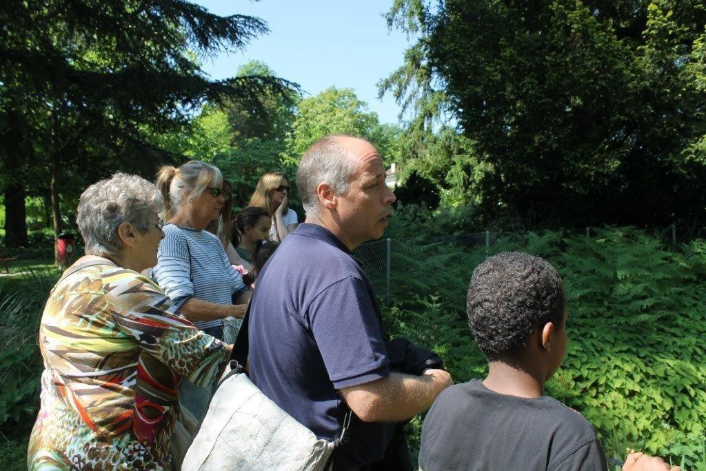 Une balade au parc Chuit avec le chef des espaces verts de Lancy