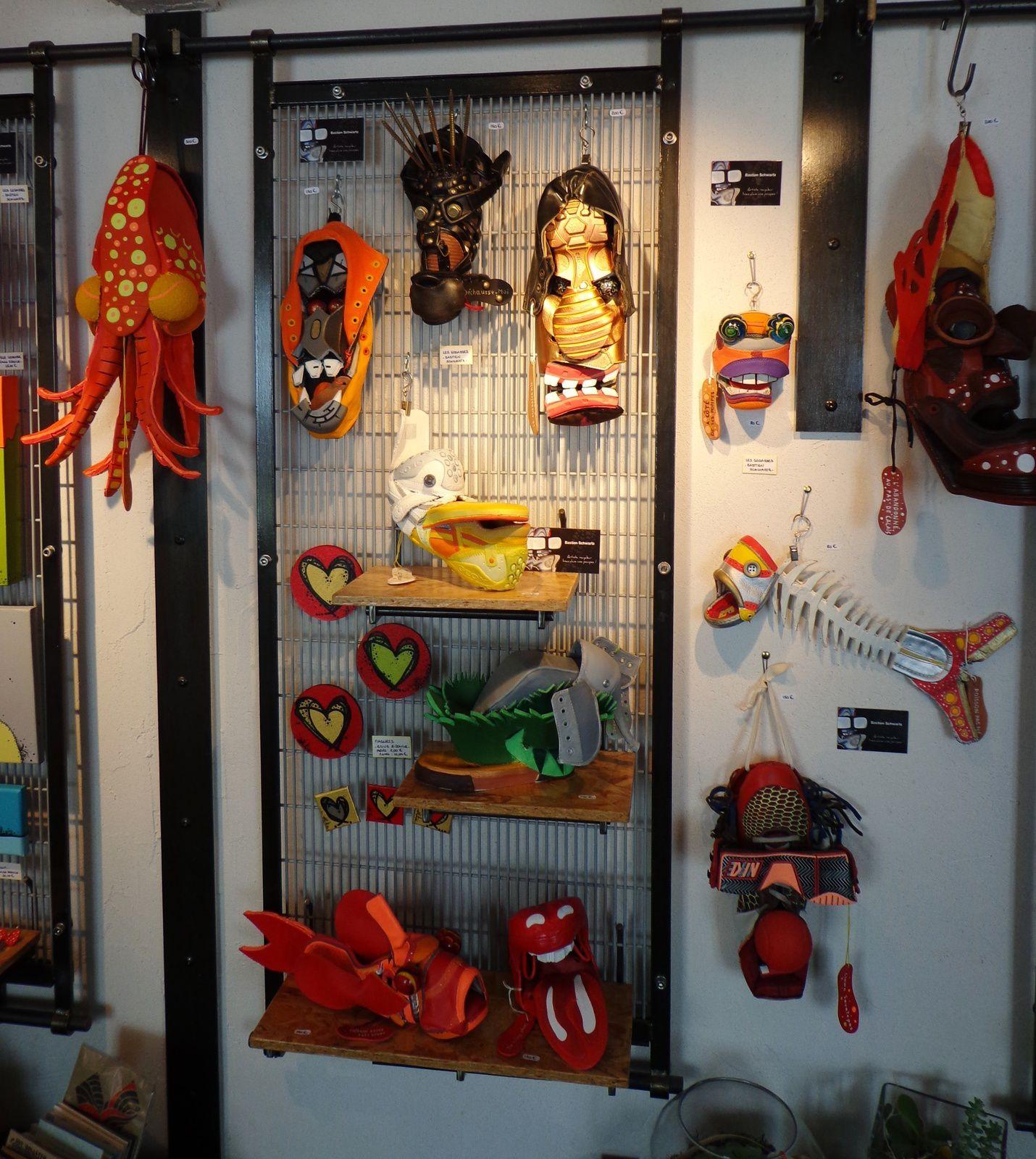 BASTIEN SCHWARTZ - SCULPTURES EN CHAUSSURES - Exposition du 24 Avril au 17 Juin 2017 ...