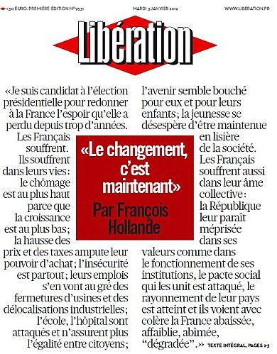 lekiosqueauxcanards-liberation-hollande 0