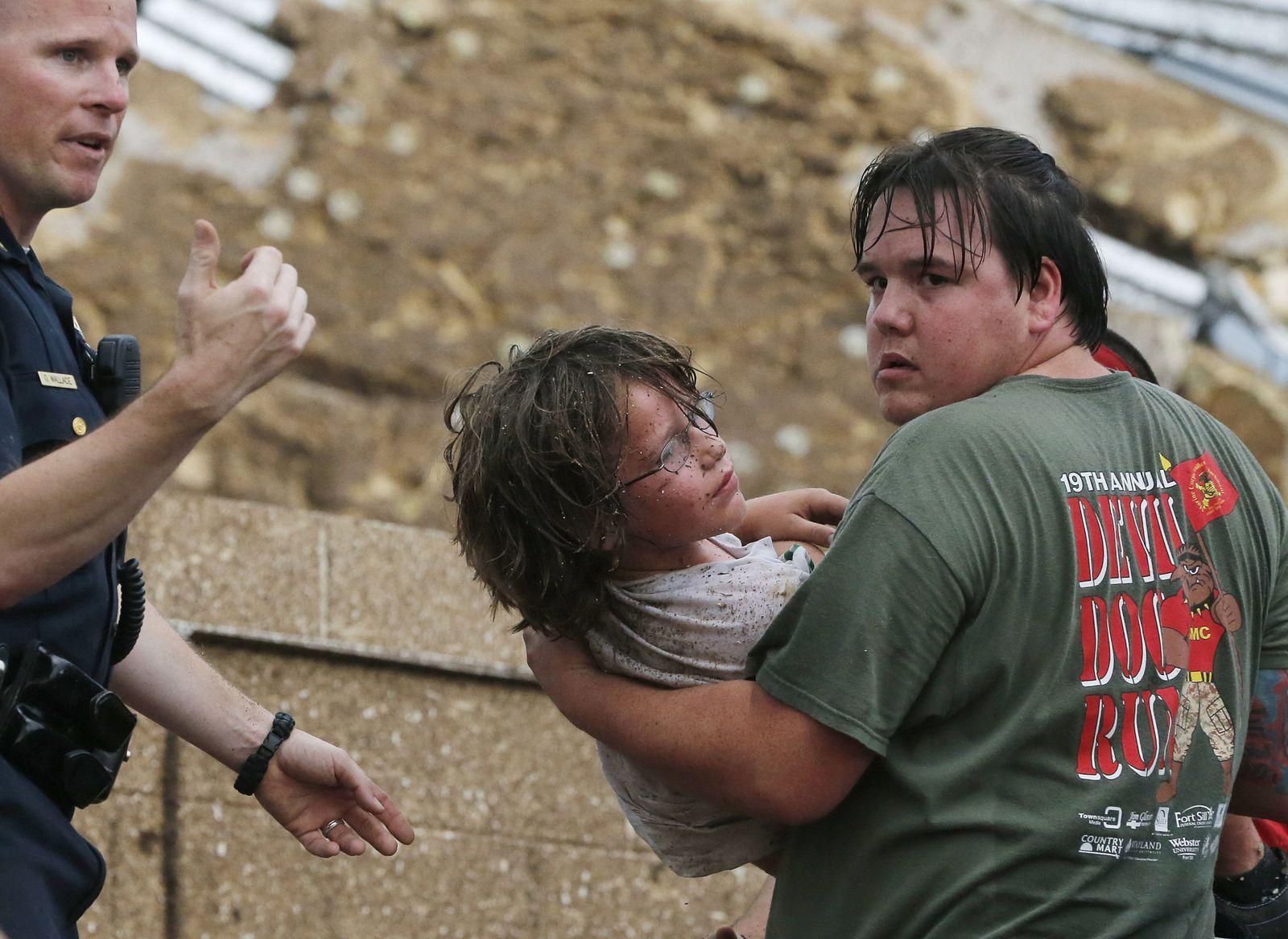 Etats-Unis: tornade meurtrière dans l'Oklahoma