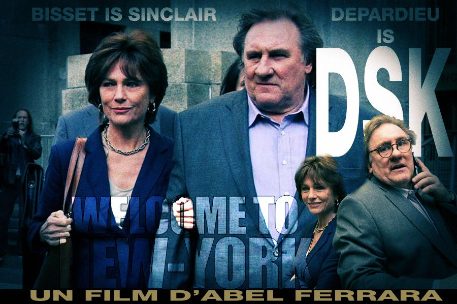 « Welcome to New York ». Depardieu is DSK