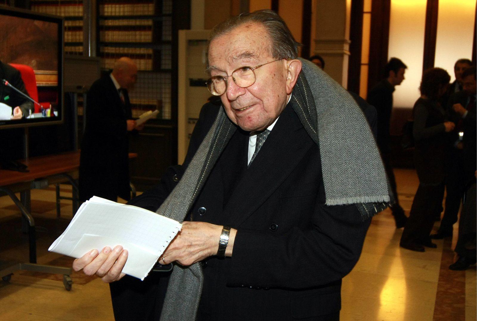 Giulio Andreotti est décédé