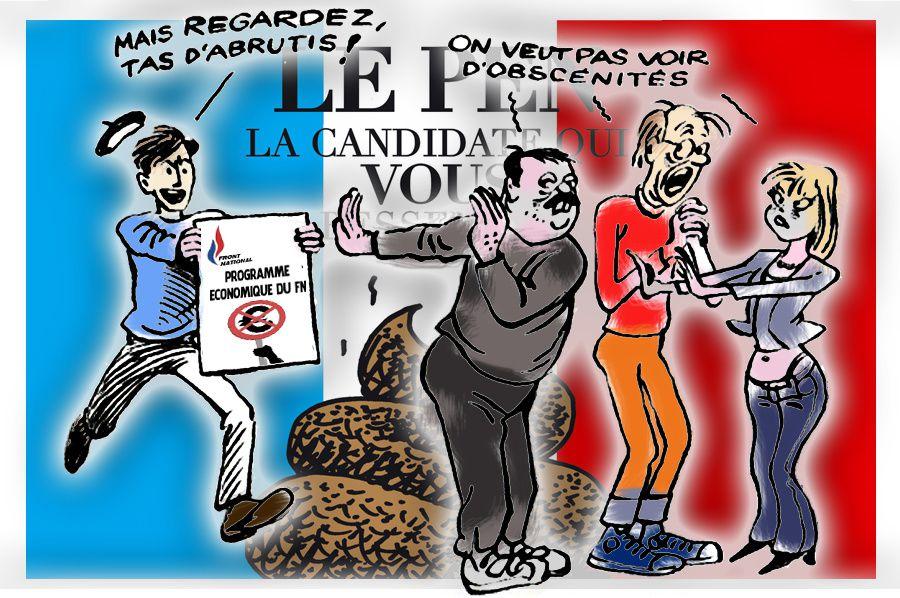 Marine Le Pen se plante encore avec ses déclarations sur l'économie