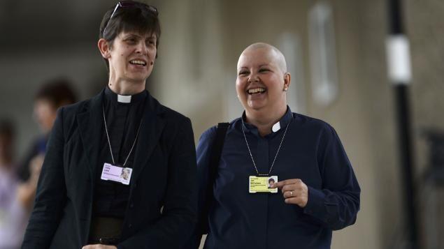 L'Église d'Angleterre est moins réac que celle de Rome
