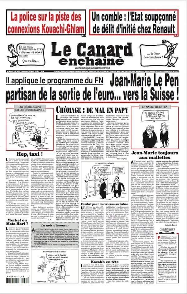 Les Le Pen : menteurs et voleurs !