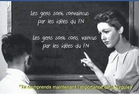FN ; de l'intérêt d'écrire en bon français