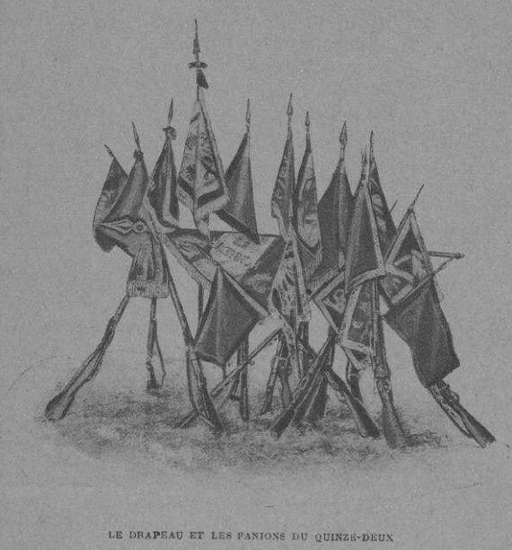 Le 15-2 pendant la Grande guerre - Editions militaires Lavauzelle et Cie - 1924