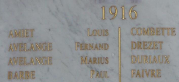Monument aux morts de Pontarlier (Doubs)