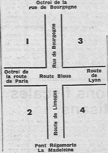 Division de Moulins pour la lutte contre les incendies (Progrès de l'Allier)