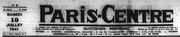 Juillet 1941, une originale manière de résister