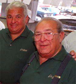 Joseph Todaro Jr et son père Joseph Todaro Sr