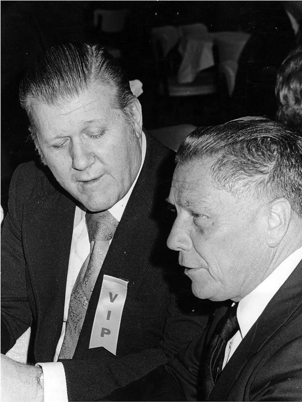 Frank Sheeran et Jimmy Hoffa