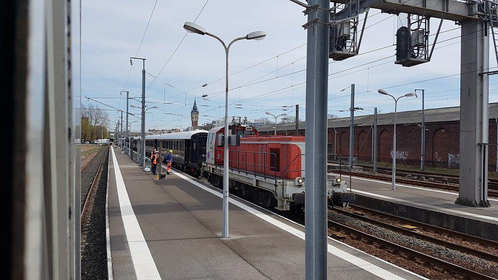 De la gare de l'Est à Calais et retour (dans l'ordre)