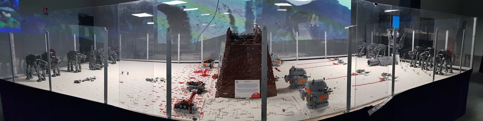 L'exposition temporaire Lego StarWars