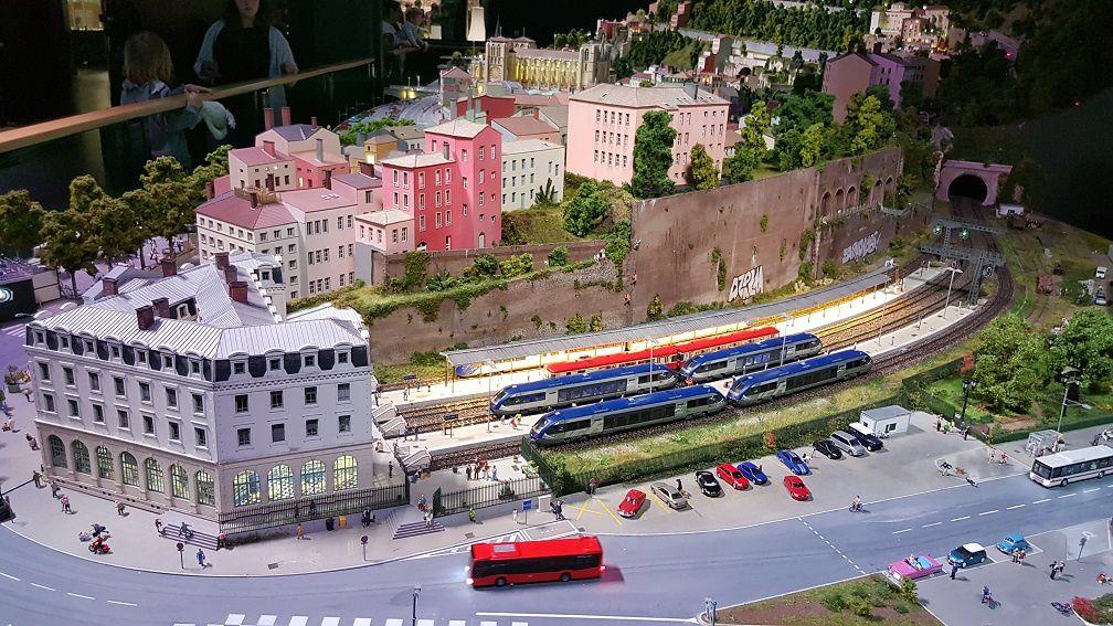 Mini World Lyon dans le sens de la visite