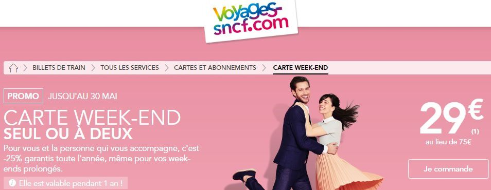 SNCF : La carte de réduction à prix réduit !