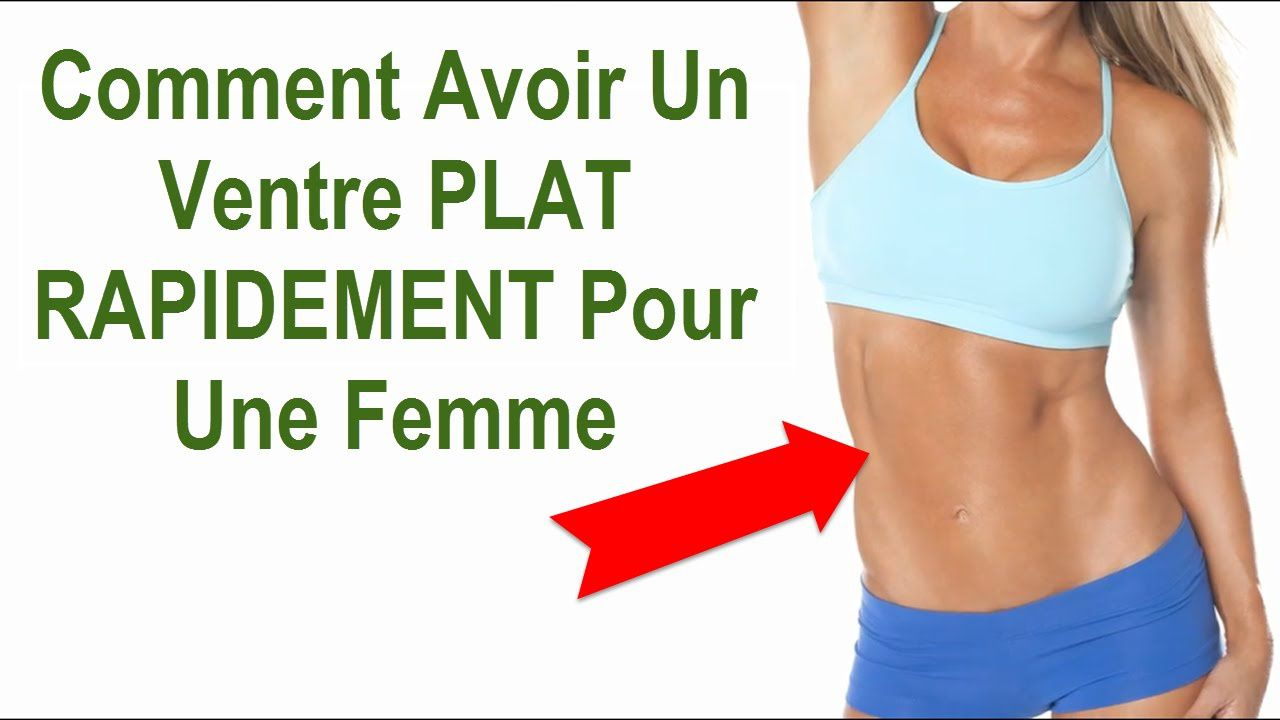 comment perdre ventre gros exercice rapide