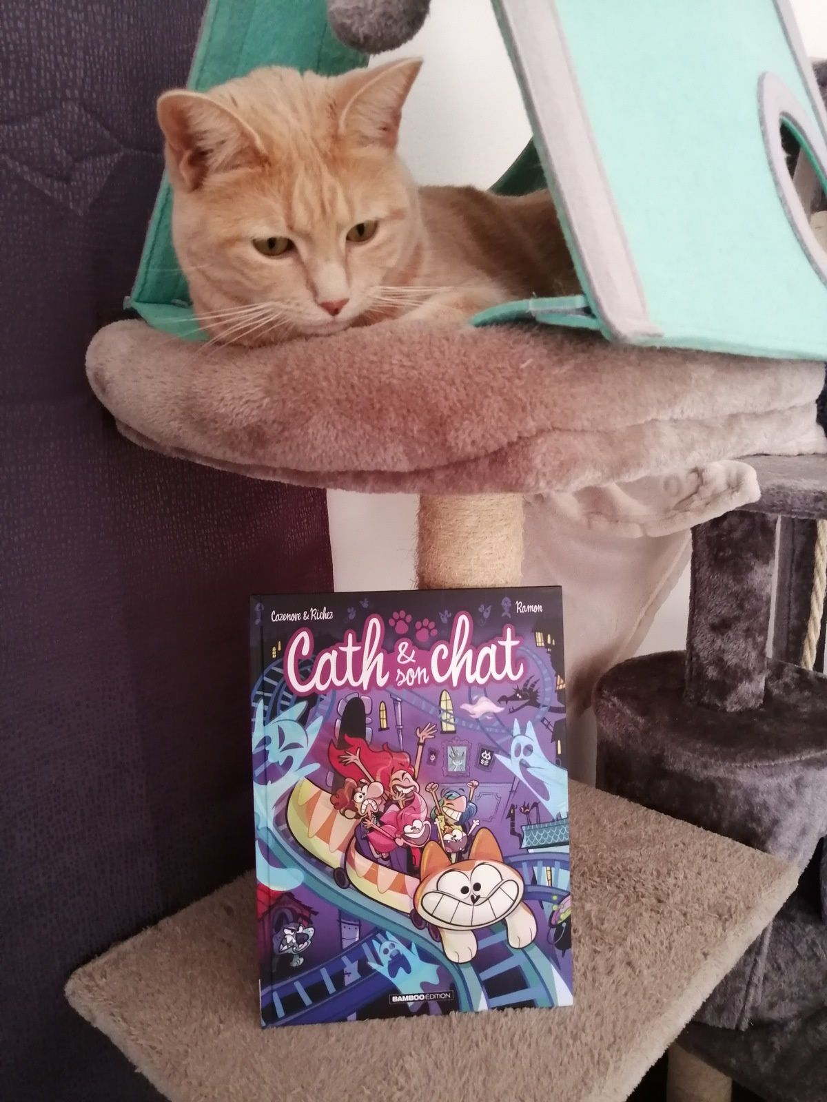Cath & son chat tome 8