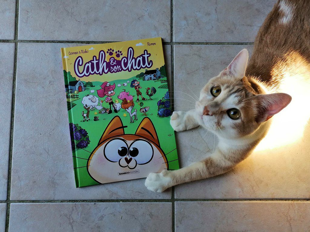 BD Cath et son chat tome 9