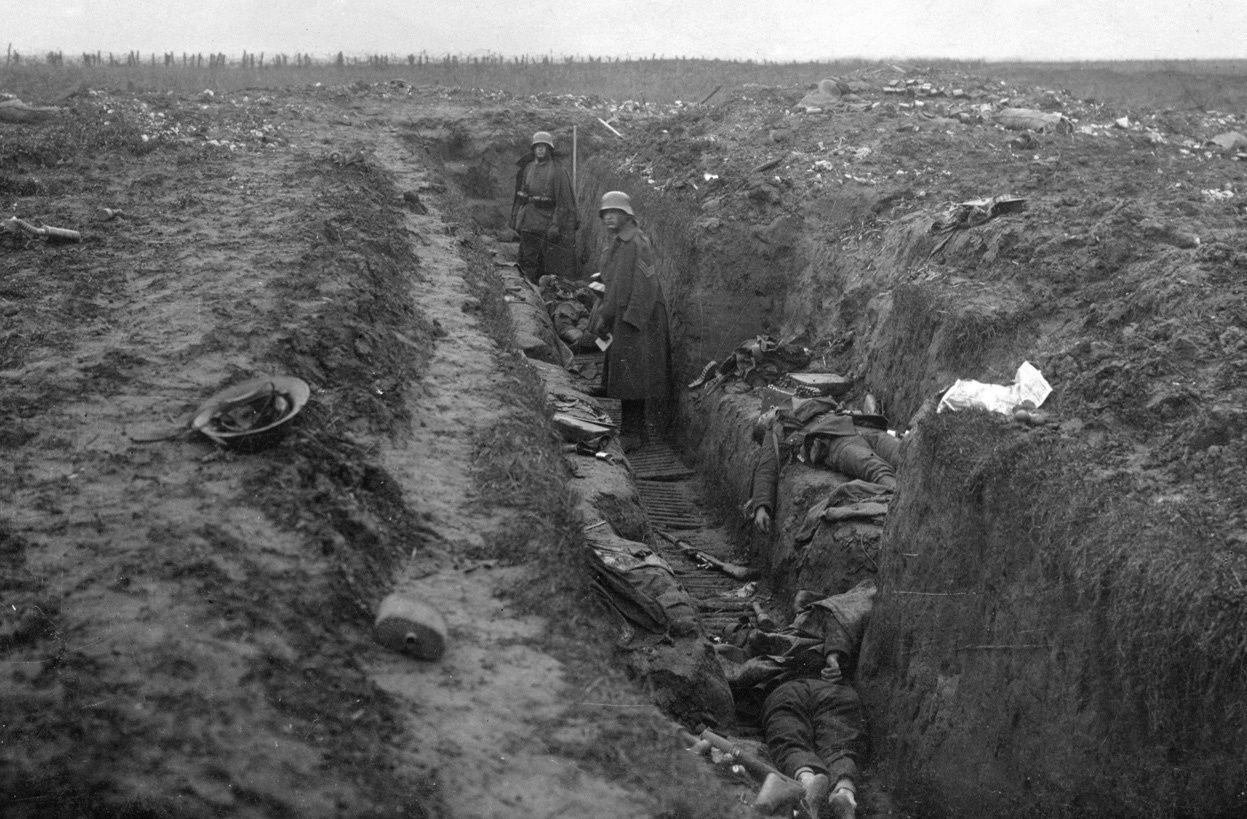 CHEMIN  DES DAMES - MAI 1918 -