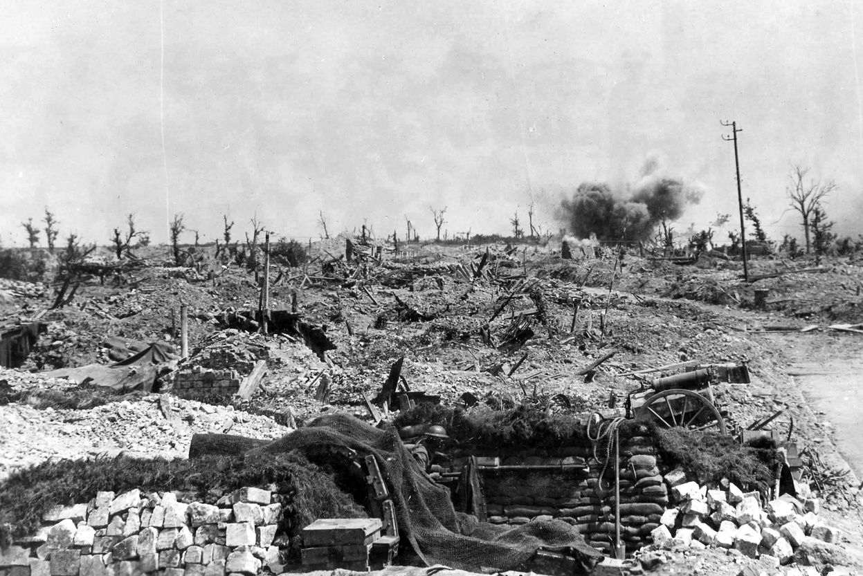 POSITIONS CANADIENNES 1917