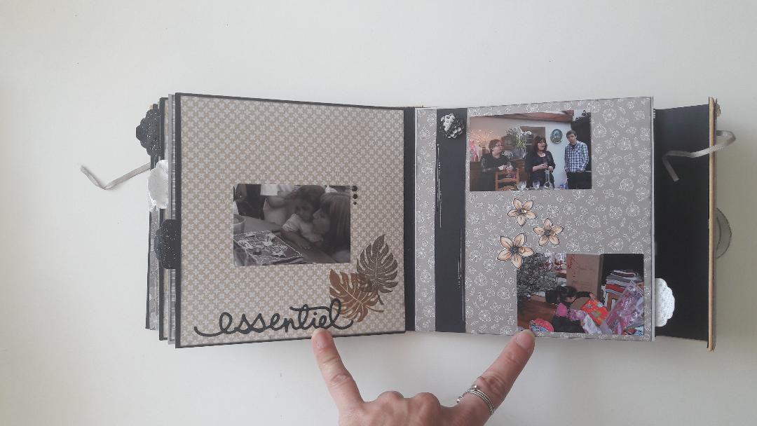 Album photo format cartable