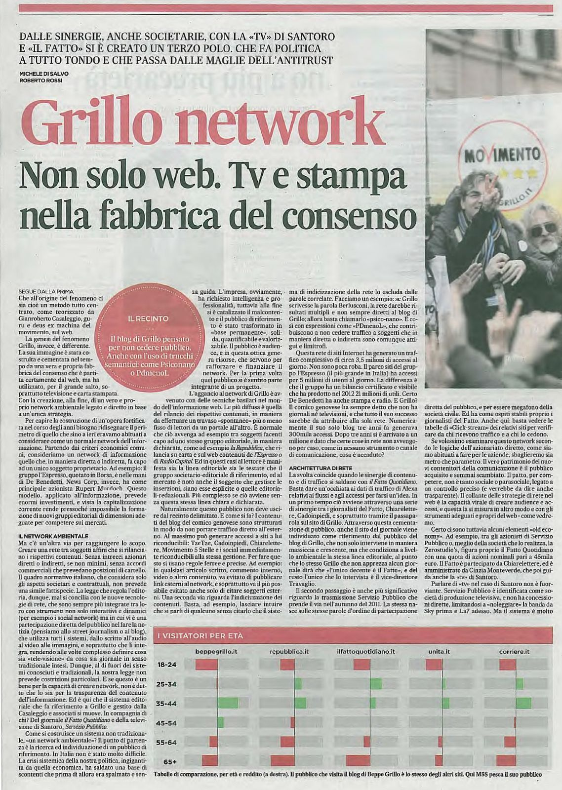 Il network ambientale a 5 stelle
