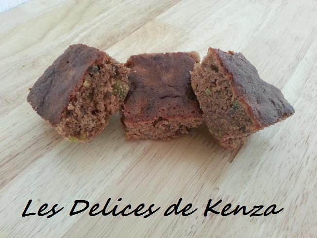 Brownie Chocolat - Pistache - Noix de Pecan
