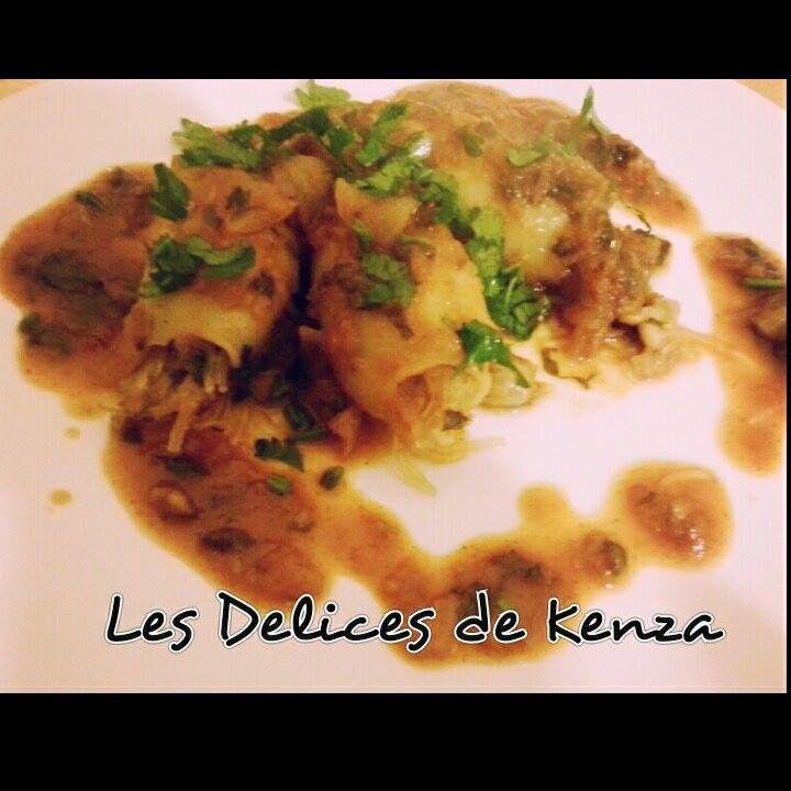 Calamars Farcis a la Marocaine