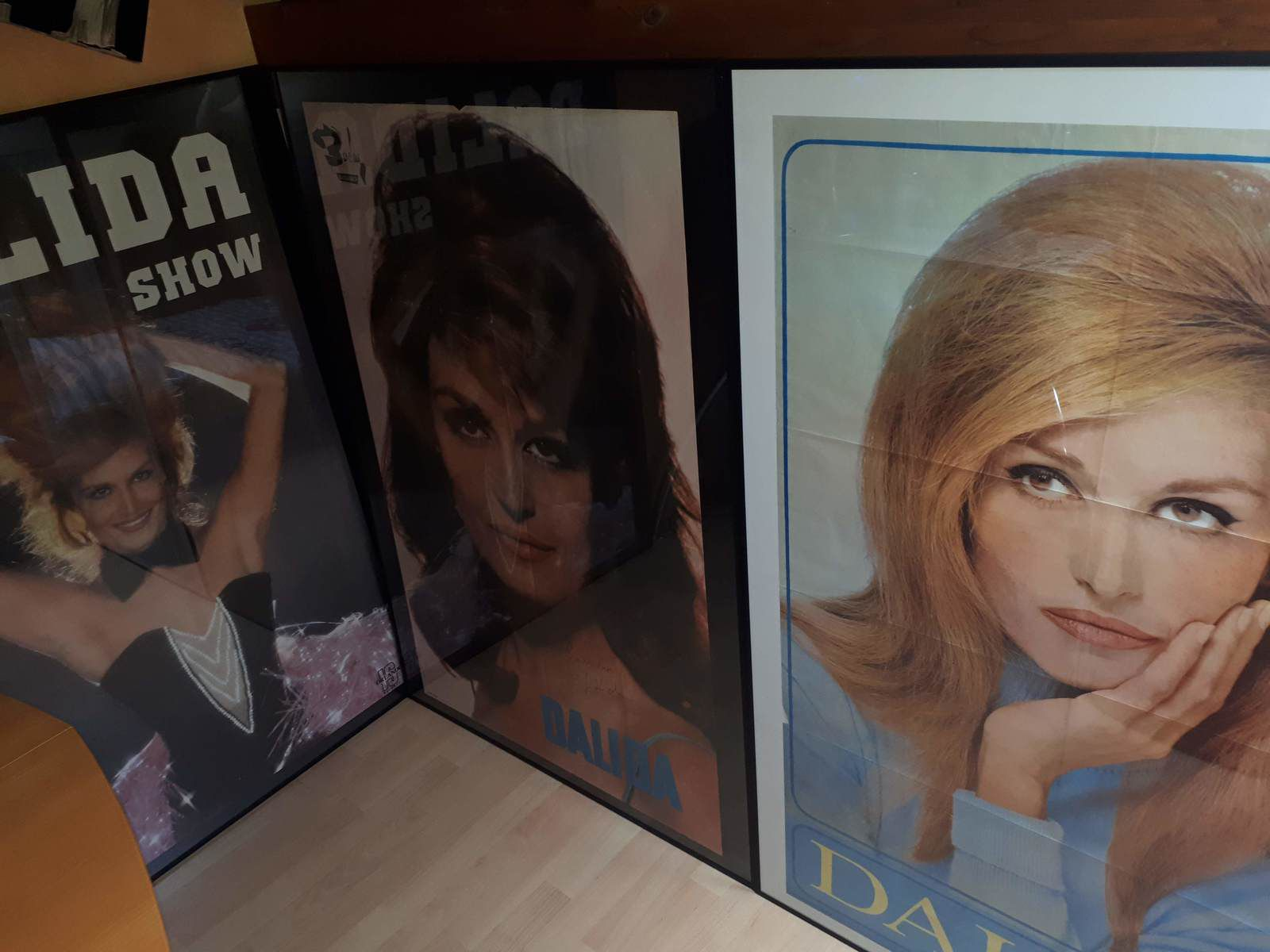 Quelques aperçus de ma collection Dalida.