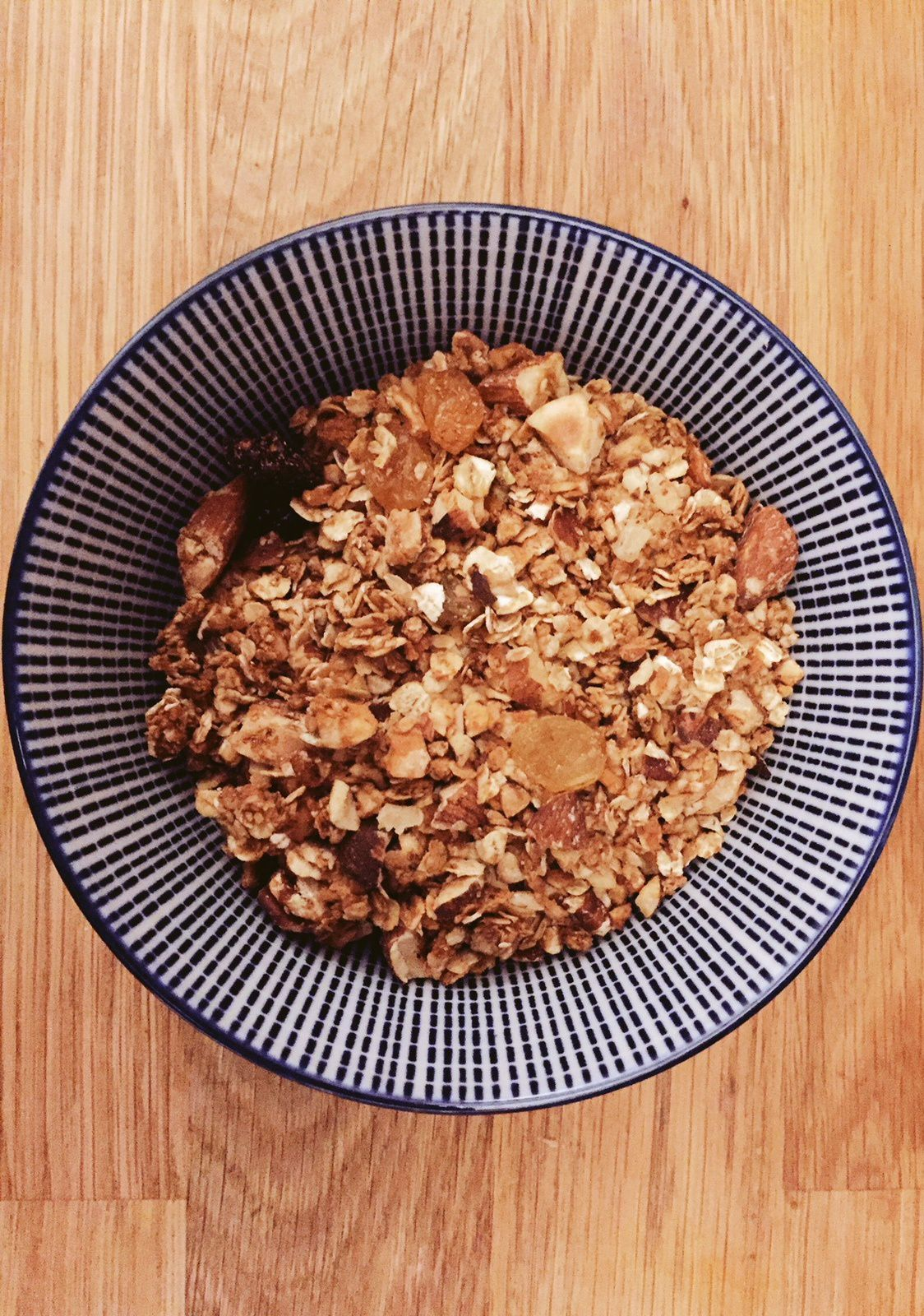 Granola Maison - ultra gourmand - sain et rapide