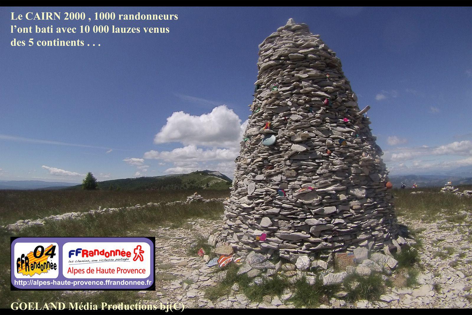 16éme Anniversaire du CAIRN 2000 - Montagne de Lure