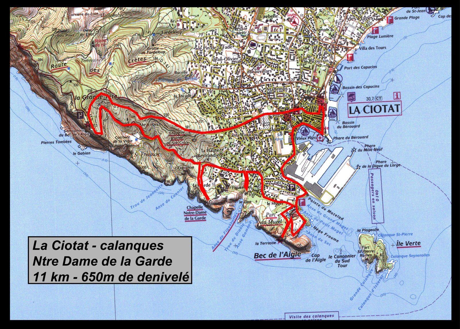 La Ciotat et St Cyr sur Mer