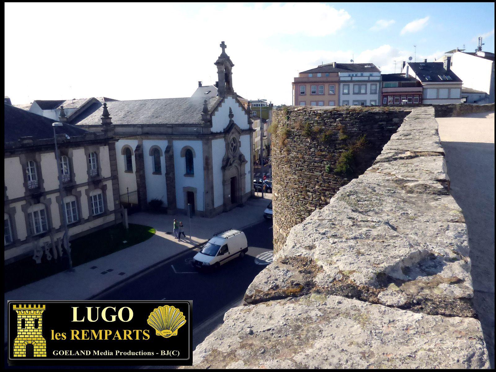 Les REMPARTS Romains de LUGO ( Galicia - Espana )